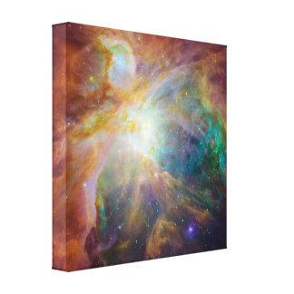 La nebulosa de Orión Lona Estirada Galerías