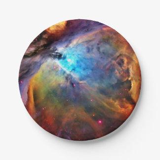 La nebulosa de Orión Platos De Papel