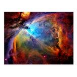 La nebulosa de Orión Postales