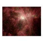 La nebulosa de Orión Tarjetas Postales
