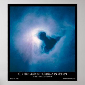 La nebulosa de reflexión en Orión - posters del es