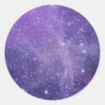 La nebulosa del ángel pegatinas redondas