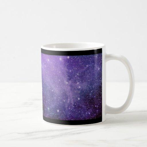 La nebulosa del ángel taza básica blanca