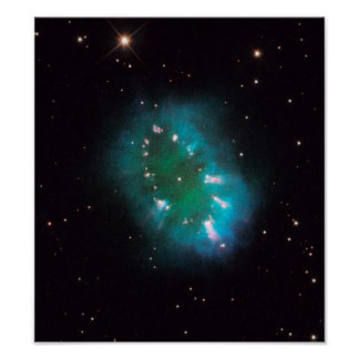 La nebulosa del collar (telescopio de Hubble) Posters
