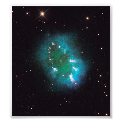 La nebulosa del collar (telescopio de Hubble) Arte Fotográfico