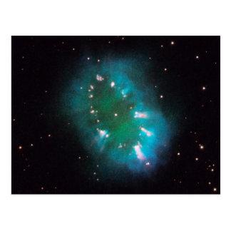 La nebulosa del collar (telescopio de Hubble) Postal