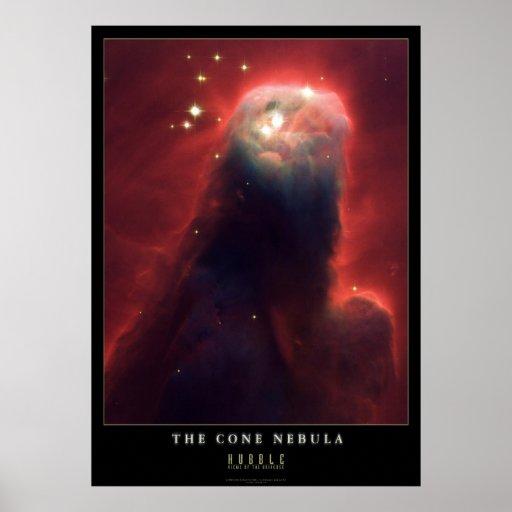 La nebulosa del cono impresiones