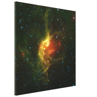 La nebulosa del mago lona estirada galerías
