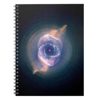 La nebulosa del ojo de gato Gas y polvo de muerte Libreta Espiral