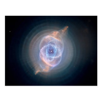 La nebulosa del ojo de gato tarjeta postal