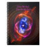 La nebulosa del ojo de gatos libros de apuntes
