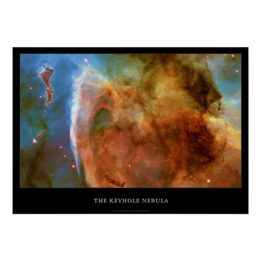 La nebulosa del ojo de la cerradura del telescopio impresiones
