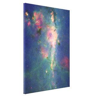 La nebulosa del Peony Impresión En Lienzo Estirada