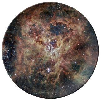 La nebulosa del Tarantula Platos De Cerámica
