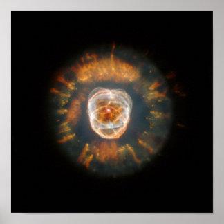 La nebulosa esquimal póster