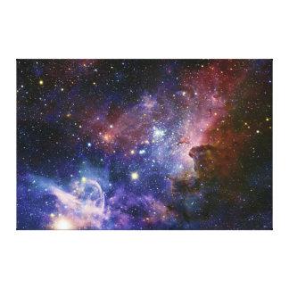 La nebulosa NGC 3372 de Eta Carina de la nebulosa  Lona Envuelta Para Galerías