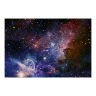 La nebulosa NGC 3372 de Eta Carina de la nebulosa  Poster