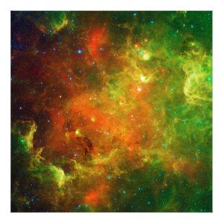 La nebulosa NGC 7000 Caldwell 20 de Norteamérica Cojinete
