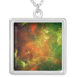 La nebulosa NGC 7000 Caldwell 20 de Norteamérica Colgante Cuadrado