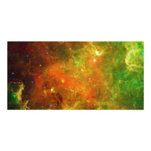 La nebulosa NGC 7000 Caldwell 20 de Norteamérica Tarjetas Con Fotos Personalizadas