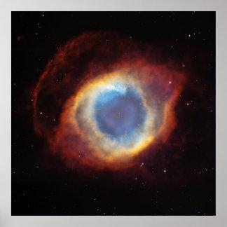 La nebulosa NGC 7293 Caldwell 63 de la hélice Impresiones