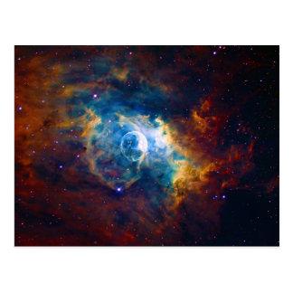 La nebulosa NGC 7635 Sharpless 162 de la burbuja Tarjeta Postal