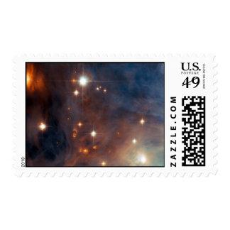 La nebulosa protagoniza el espacio de Hubble de la Franqueo