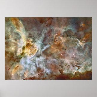 La nebulosa protagoniza el espacio fresco de la na póster