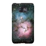 La nebulosa protagoniza la naturaleza fresca del f galaxy s2 carcasas