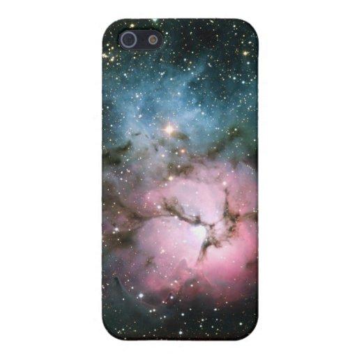 La nebulosa protagoniza la naturaleza fresca del f iPhone 5 funda