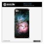 La nebulosa protagoniza la naturaleza fresca del f iPhone 4S skin