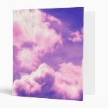 La nebulosa rosada abstracta se nubla el modelo