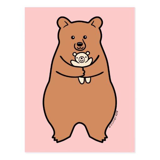 ¡La necesidad grande de los osos abraza también! Postales