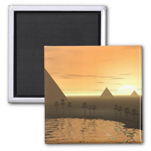 La necrópolis de Giza Iman De Frigorífico