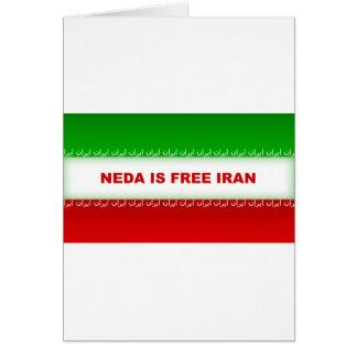 La NEDA es Irán libre Felicitacion