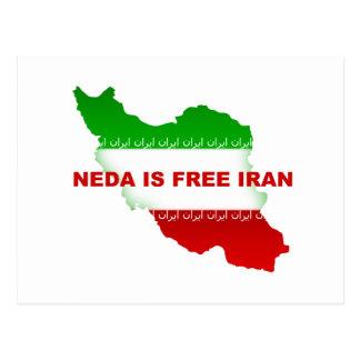 La NEDA es Irán libre Postal