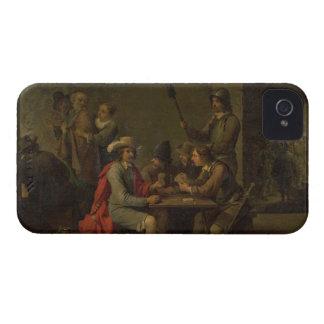 La negación de San Pedro, 1646 (aceite en lona) Case-Mate iPhone 4 Cárcasas