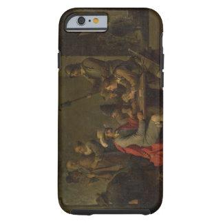 La negación de San Pedro, 1646 (aceite en lona) Funda Para iPhone 6 Tough
