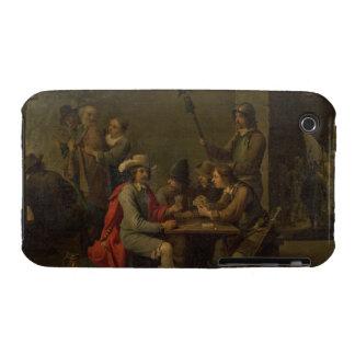 La negación de San Pedro, 1646 (aceite en lona) iPhone 3 Case-Mate Cárcasas