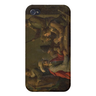 La negación de San Pedro, 1646 (aceite en lona) iPhone 4/4S Funda