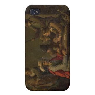 La negación de San Pedro, 1646 (aceite en lona) iPhone 4 Funda