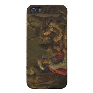 La negación de San Pedro, 1646 (aceite en lona) iPhone 5 Funda