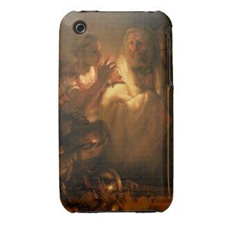 La negación de San Pedro, 1660 (aceite en lona) Case-Mate iPhone 3 Protectores