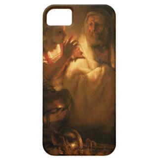 La negación de San Pedro, 1660 (aceite en lona) Funda Para iPhone 5 Barely There