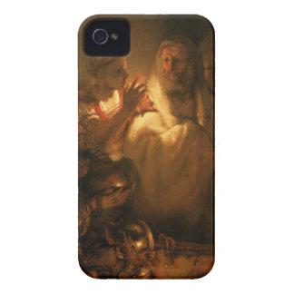 La negación de San Pedro, 1660 (aceite en lona) iPhone 4 Case-Mate Carcasas