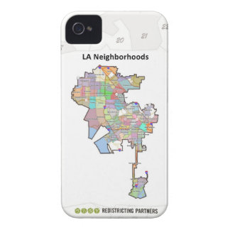 LA Neighborhoods Case-Mate iPhone 4 Cases