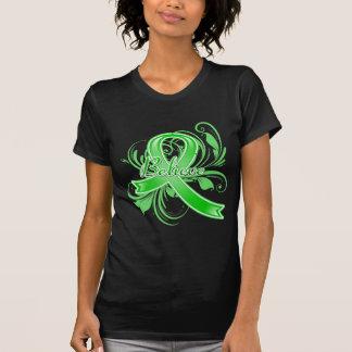 La neurofibromatosis cree la cinta del Flourish Camisetas