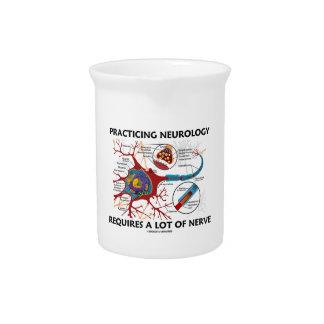 La neurología practicante requiere mucho nervio jarras