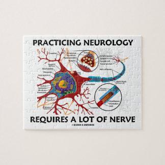 La neurología practicante requiere mucho nervio puzzle