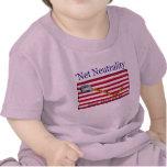 La neutralidad neta - no pise en mí camisetas